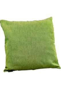 Capa Para Almofada Em Jacquard Paris 45X45Cm Verde