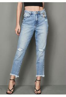 Calça Jeans Bruna Azul