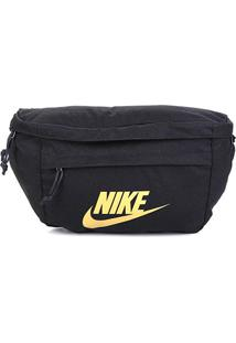 Pochete Nike Tech Hip Pack - Unissex-Preto+Dourado