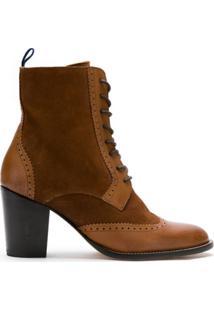 Blue Bird Shoes Bota Méknes De Couro - Marrom