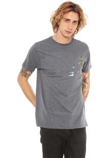 Camiseta Hurley Flamingo Cinza