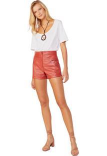 Shorts Fashion De Leather