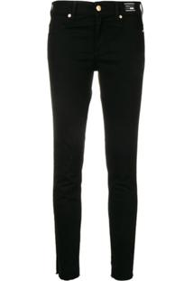 Versace Jeans Couture Skinny Jeans - Preto