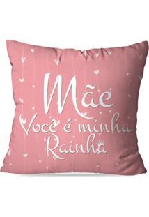 Capa De Almofada Avulsa Decorativa Você É Minha Rainha
