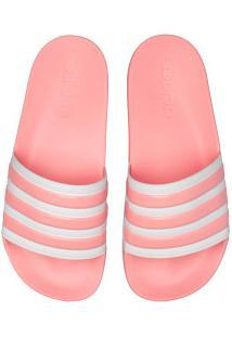 Chinelo Adidas Adilette Shower - Slide - Feminino - Rosa Claro