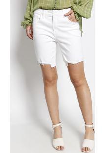 Bermuda Girlfriend Shine - Branca - Le Lis Blancle Lis Blanc