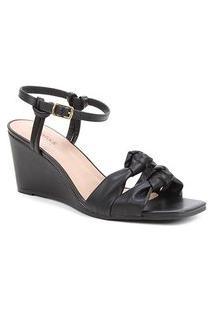 Sandália Shoestock Soft Anabela Feminina