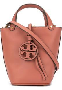 Tory Burch Bolsa Bucket Miller Pequena - Rosa
