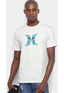 Camiseta Hurley Silk Skull Masculina - Masculino
