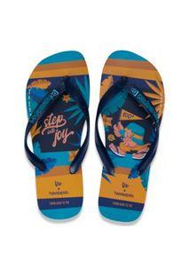 Calçado New Era Chinelo New Era Brasil Azul