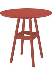 Mesa Tramontina Pub 91453/080 Vermelho Se