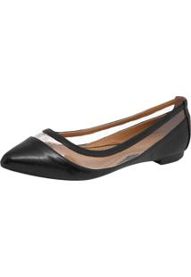 Sapatilha Dafiti Shoes Vazado Preta