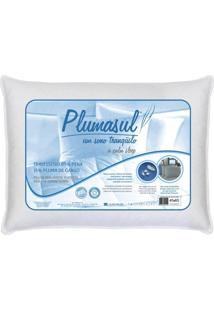 Travesseiro De Penas E Plumas 45X65Cm 233 Fios Plumasul