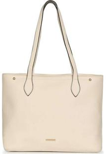 Bolsa Shopping Bag Feminina Gash Recortes Nude