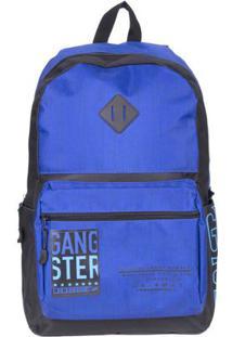 Mochila Masculina Gangster Azul