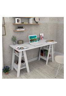 Mesa Escrivaninha Appunto Esc3003 Self 4 Prateleiras