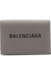 Balenciaga Carteira 'Everyday' Mini - Cinza