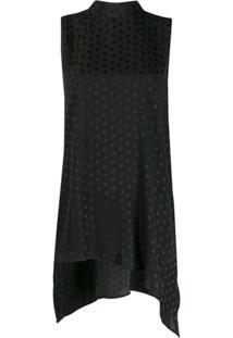 P.A.R.O.S.H. Blusa Estampada Com Estrela - Preto