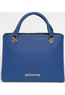 Bolsa Com Tag - Azul - 26X31X14Cmloucos E Santos
