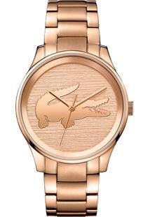 c0267f1a23614 ... Relógio Lacoste Feminino Aço Rosé - 2001015