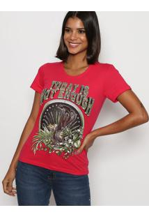 "Camiseta ""Today Is Not Enough"" - Rosa & Verde - Trittriton"