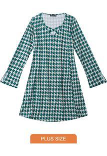 Vestido Curto Jade Vintage Cool Lisamour