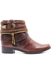 Bota Country 011 Alice - Fossil Tabaco