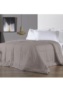 Edredom King Altenburg 230 Fios Antimicrobiano Com Tencel Four Seasons Nomad - Marrom Marrom - Tricae