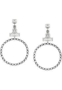 Isabel Marant Crystal Earrings - Branco