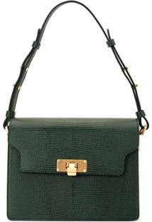 Marge Sherwood Vintage Brick Cross Body Bag - Verde