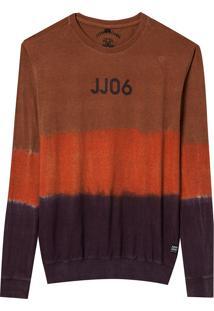 Camiseta John John Dye Masculina (Sudan Brown, M)