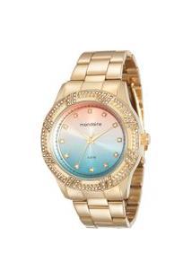 Relógio Analógico Mondaine Feminino - 76570Lpmvde2 Dourado