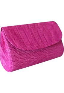 Micro Clutch Artestore Palha De Buriti Pink