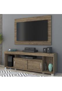 Rack Com Painel Para Tv 2 Portas Pierre 704023 Rijo - Madetec