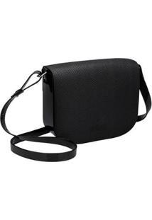 Bolsa Essential Shoulder Bag Snake Melissa Feminina - Feminino-Preto