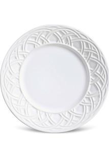 Conjunto 6Pçs Pratos De Sobremesa Porto Brasil Cestino Branco