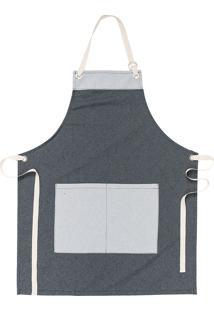 Avental Copa & Cia Organic Chef Preto