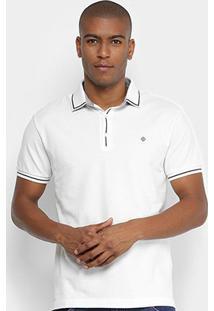 Camisa Forum Polo Masculina - Masculino-Off White