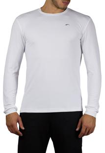 Camiseta Praxis Original Long Sleeve Dry Com Proteção Uv50 Branca