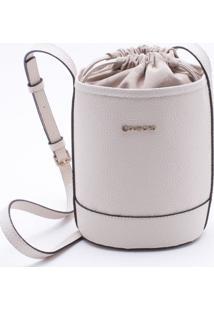 Bolsa Bucket Vanilla - M
