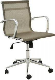 Cadeira Office Rivatti Sevilha Baixa Dourado