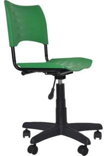 Cadeira Giratória Iso Plástica Verde