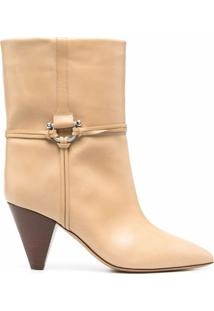 Isabel Marant Ankle Boot Lilet - Neutro