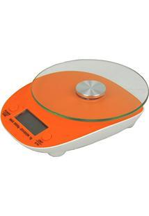 Balança Eletrônica Digital De Cozinha 5Kg Cbr04270 Laranja