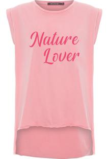 Camiseta Feminina Nature Lover - Rosa