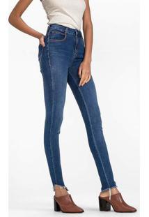 52a1b7a8c Dzarm Web Store. Calça Jeans Skinny Cintura Média Alta ...