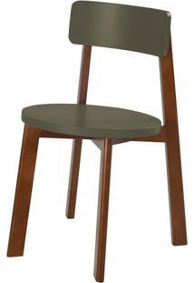 Cadeira Lina Cor Cacau Com Fendi - 31538 - Sun House