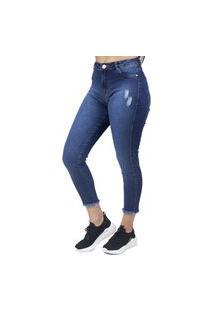 Calça Jeans Feminina Mom No Alcance