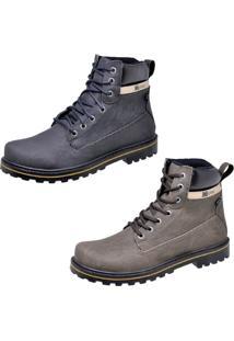 Bota Casual Cr Shoes Adventure Preto Marrom