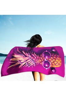 Toalha De Praia / Banho Pineapple Fashion